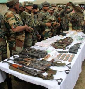 kashmir-army-displays-huge-cache-of-arms-ammunition-recovered-from-the-three-militants-killed-during-handwara-encounter-umar-ganie-02