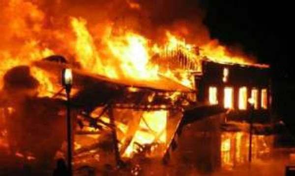 school-burnt