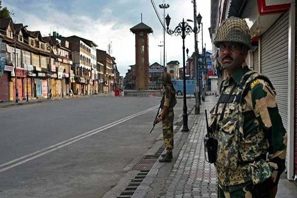 BSF deployed in Kashmir