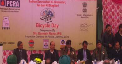 Conserve Petrolem Products :Bicycle day observed