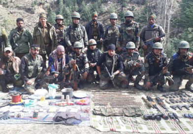 Militant hideout busted in Kishtwar, cache of arms recovered