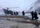 Casualty evacuation (casevac): Pregnant lady from village kurgiak