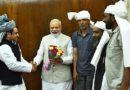 J&K BJP tribal leader met PM Modi