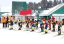 National nordic x- country and biathlon championship conducted at Gulmarg