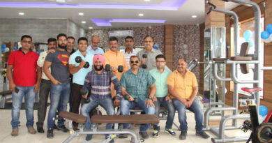 Press Club of Jammu introduces Health cum Fitness Club equipped with latest gadgets
