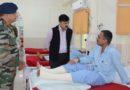 Advisor Vijay Kumar visits Army Hospital