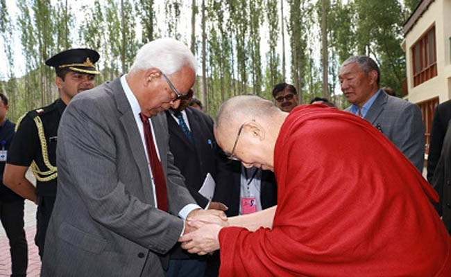 Governor meets Dalai Lama at Leh – JK News Today