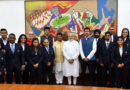 PM interacts with Table Tennis Medal winners of Commonwealth Games- 2018