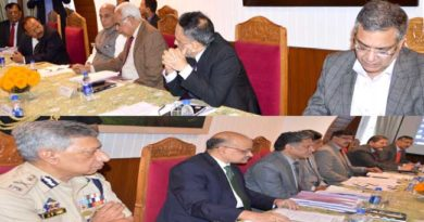 union-home-minister-chairing-a-meeting-at-rajbhavan