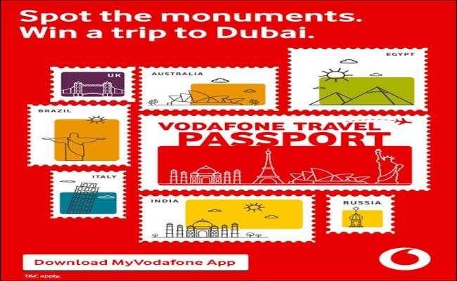 The Vodafone Travel Passport' contest can win you a ticket
