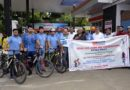 ASCOMS organizes cycle rally on road safety