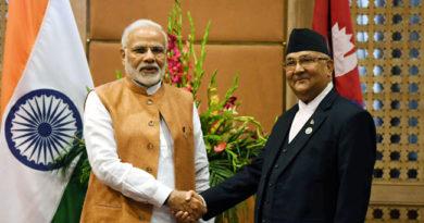 The Prime Minister, Shri Narendra Modi meeting the Prime Minister of Nepal, Shri K.P. Sharma Oli, on the sidelines of the 4th BIMSTEC Summit, in Kathmandu, Nepal on August 31, 2018.