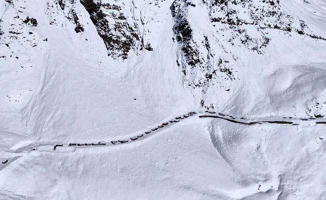 Jammu-Srinagar national highway opened partially; Shimla gets more snow