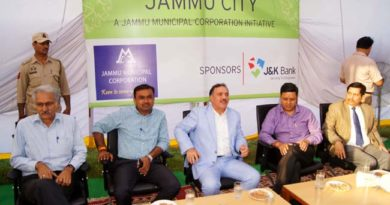 JMC launches beautification Drive of Jammu City in collaboration with JK Bank
