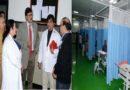 Advisor Vijay Kumar visit Super-specialty Hospital Jammu