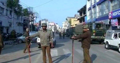 Curfew relaxed for 2 hours in Jammu's old city on Tuesday