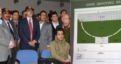 Advisor K Vijay Kumar lays foundation of 'Khel Gaon' at Nagrota