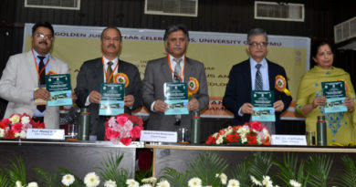 "JU organizes a National Seminar on ""Plant and Fungal Diversity: Status and Challenges and Symposium on Plant Ecology."""
