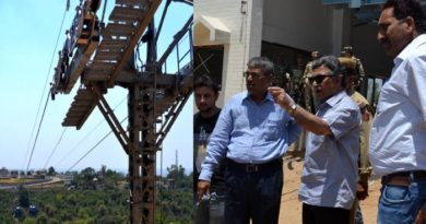 Ganai inspects Bahu–Mahamaya–Peerkho cable car project