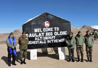 Secretary Defence finance visits army locations in ladakh sector
