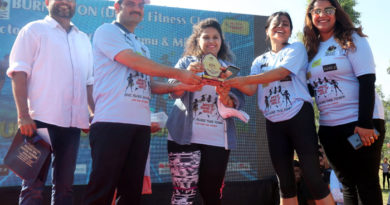 800 women participates in Women fun Run in Jammu