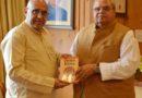Avinash Rai Khanna meets Governor