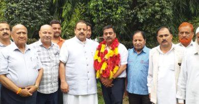 Shri Ram Sena State President Rajiv Mahajan joins NC