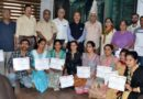 JUVC felicitated the participants of Sharada Lipi Learning Course