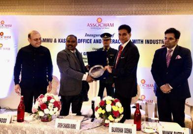 J&K Lt Governor opens ASSOCHAM office in Jammu; seeks partnership of industry/tourism summits