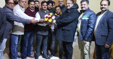 Press Club Jammu Congratulate Newly Elected Press Club Kathua Team