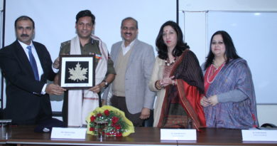 IGP Mukesh Singh Inaugurates Course on Human Rights at JU