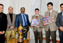 Lt Governor interacts with winners of India Today National Quiz