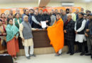 Raina files nomination for J&K BJP President, unanimous choice for Party President