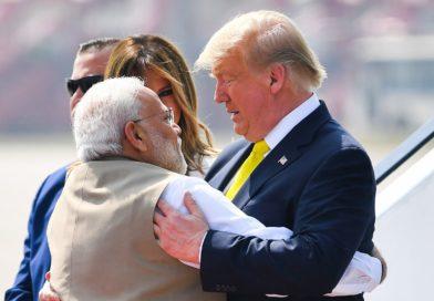 Namaste Trump: US president arrives in Ahmedabad