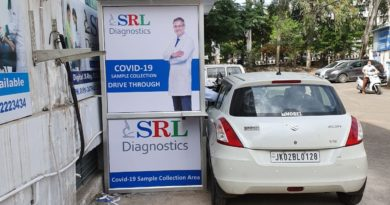 SRL Diagnostics launches the drive-thru for COVID 19 sample collection in Jammu